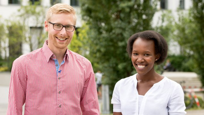 Stephan Wolf and Anne Nyokabi