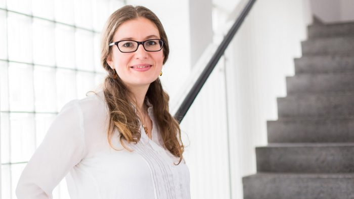 Portrait of chemist Dr. Madleen Busse