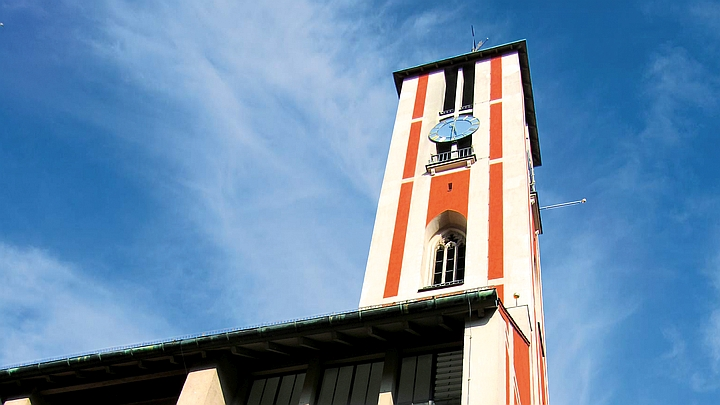 Spire of St. Markus church
