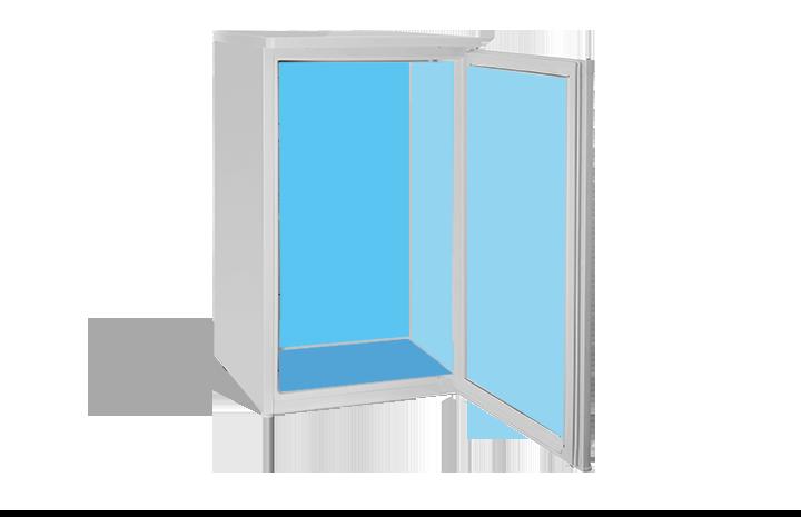 Sketch of a refrigerator