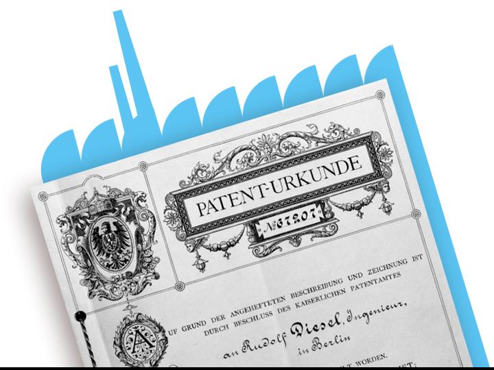 Patent of Rudolf Diesel