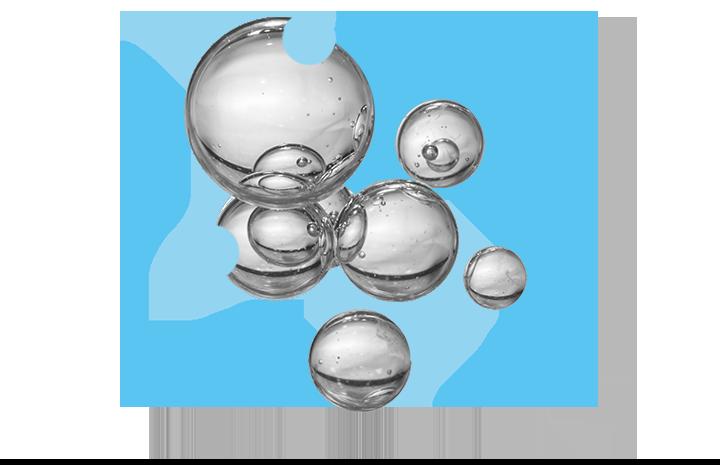 Air bubbles