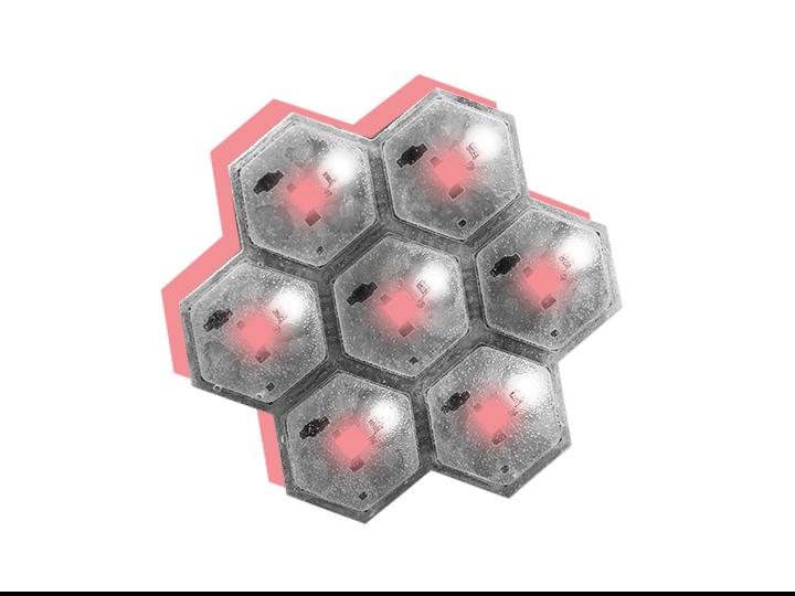 Sensor network of the CellulARSkin