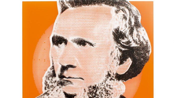 Portrait von Karl Max von Bauernfeind