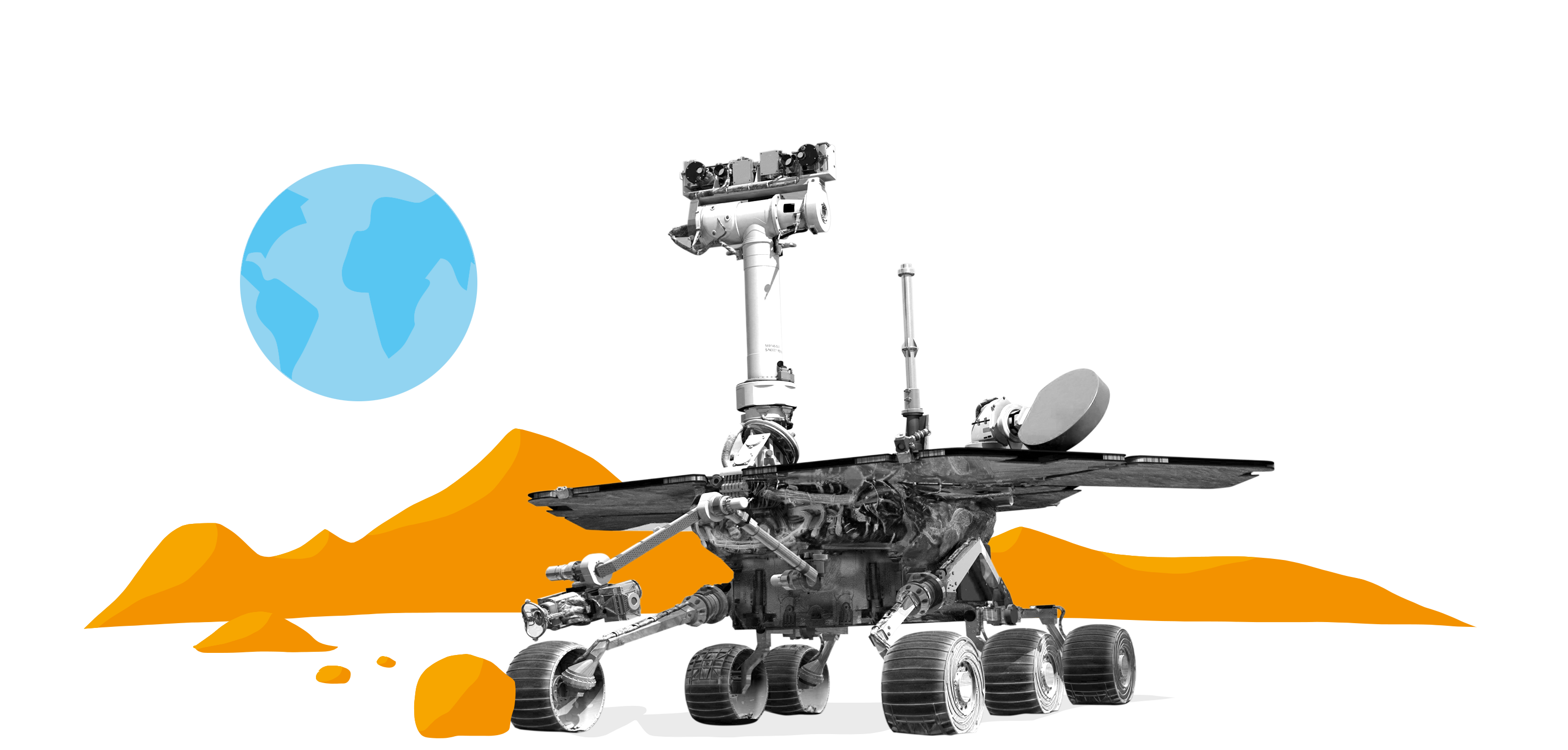 what makes the mars rover and explorer - photo #28