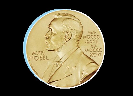Nobelpreis-Medaille
